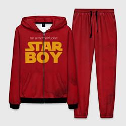 Костюм мужской The Weeknd - Star Boy цвета 3D-черный — фото 1