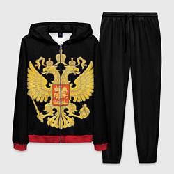Костюм мужской Герб России: золото цвета 3D-красный — фото 1