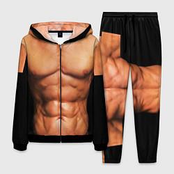 Костюм мужской Идеальное тело цвета 3D-черный — фото 1