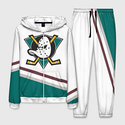 Костюм мужской Anaheim Ducks Selanne цвета 3D-белый — фото 1