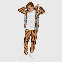 Костюм мужской Взгляд тигра цвета 3D-меланж — фото 2
