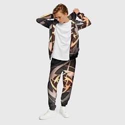 Костюм мужской Ninjas In Pyjamas цвета 3D-черный — фото 2