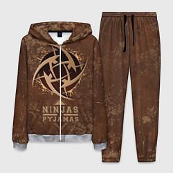 Костюм мужской Ninjas In Pyjamas цвета 3D-меланж — фото 1