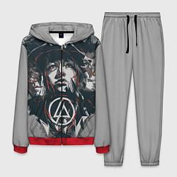 Костюм мужской Linkin Park: My Style цвета 3D-красный — фото 1
