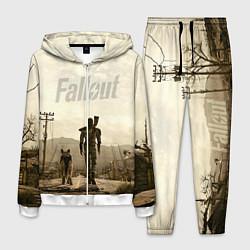Костюм мужской Fallout City цвета 3D-белый — фото 1