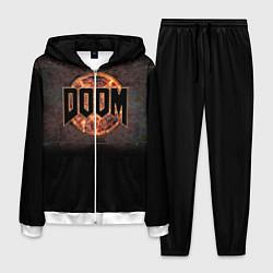 Костюм мужской DOOM Fire цвета 3D-белый — фото 1