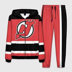 Костюм мужской New Jersey Devils цвета 3D-черный — фото 1
