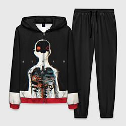 Костюм мужской Three Days Grace: Skeleton цвета 3D-красный — фото 1