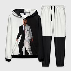 Костюм мужской Eminem: Black & White цвета 3D-черный — фото 1