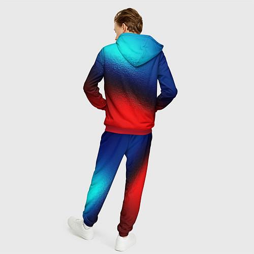 Мужской костюм Синий и красный / 3D-Красный – фото 4