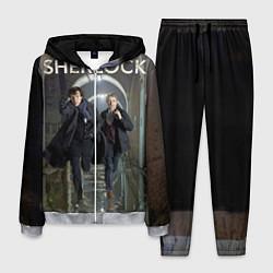 Костюм мужской Sherlock Break цвета 3D-меланж — фото 1