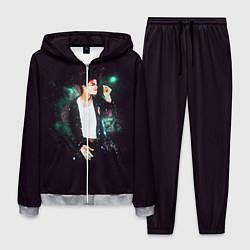 Костюм мужской Michael Jackson цвета 3D-меланж — фото 1