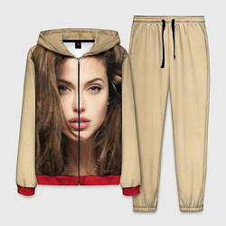 Костюм мужской Анжелина Джоли цвета 3D-красный — фото 1