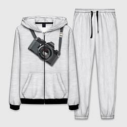 Костюм мужской Фотоаппарат на груди цвета 3D-черный — фото 1