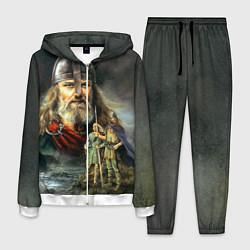 Костюм мужской Богатырь Руси цвета 3D-белый — фото 1