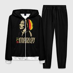 Костюм мужской Bob Marley цвета 3D-белый — фото 1