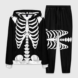 Костюм мужской Скелет цвета 3D-белый — фото 1