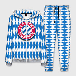 Костюм мужской FC Bayern Munchen цвета 3D-меланж — фото 1