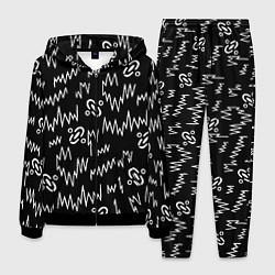 Костюм мужской Chemical Brothers: Pattern цвета 3D-черный — фото 1