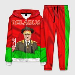 Костюм мужской Belarus: Lukashenko цвета 3D-белый — фото 1