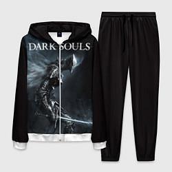 Костюм мужской Dark Souls цвета 3D-белый — фото 1