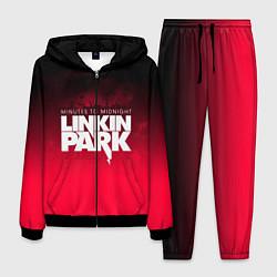 Костюм мужской Linkin Park: Minutes to midnight цвета 3D-черный — фото 1