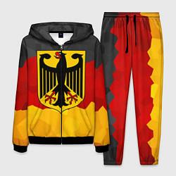 Костюм мужской Германия: герб цвета 3D-черный — фото 1