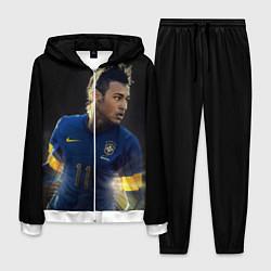 Костюм мужской Neymar: Brasil Team цвета 3D-белый — фото 1
