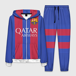 Костюм мужской Barcelona: Qatar Airways цвета 3D-белый — фото 1