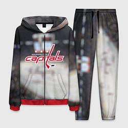 Костюм мужской Washington Capitals цвета 3D-красный — фото 1