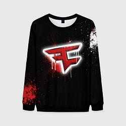 Свитшот мужской FaZe Clan: Black collection цвета 3D-черный — фото 1