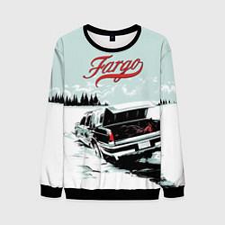 Свитшот мужской Fargo Car цвета 3D-черный — фото 1