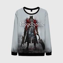 Свитшот мужской Bloodborne: Hell Knight цвета 3D-черный — фото 1