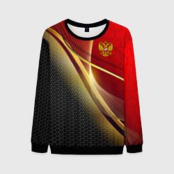 Мужской свитшот RUSSIA SPORT: Gold Collection