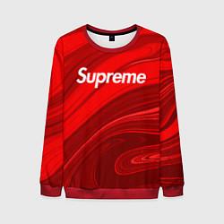 Свитшот мужской Supreme цвета 3D-красный — фото 1