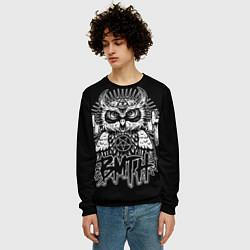 Свитшот мужской BMTH Owl цвета 3D-черный — фото 2