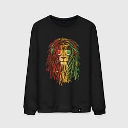 Мужской свитшот Rasta Lion