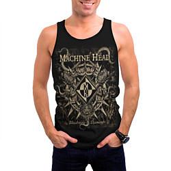 Майка-безрукавка мужская Machine Head цвета 3D-черный — фото 2