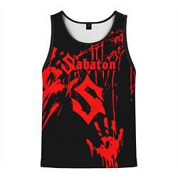 Майка-безрукавка мужская Sabaton цвета 3D-черный — фото 1