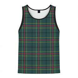 Майка-безрукавка мужская Шотландка цвета 3D-черный — фото 1