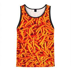 Майка-безрукавка мужская Морковь цвета 3D-черный — фото 1