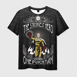 Мужская 3D-футболка с принтом The Strongest Hero, цвет: 3D, артикул: 10100908103301 — фото 1