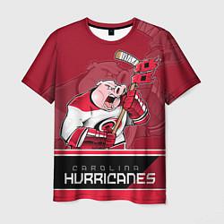 Футболка мужская Carolina Hurricanes цвета 3D — фото 1