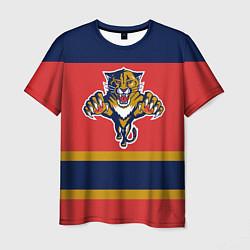 Футболка мужская Florida Panthers цвета 3D — фото 1