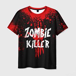Футболка мужская Zombie Killer цвета 3D — фото 1