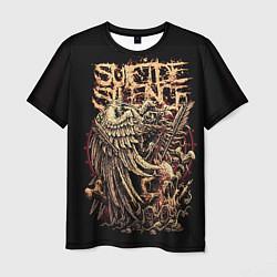 Мужская 3D-футболка с принтом Suicide Silence, цвет: 3D, артикул: 10112868503301 — фото 1