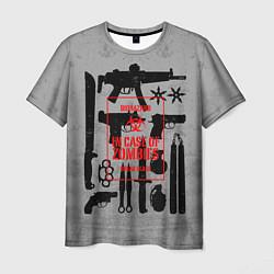 Мужская 3D-футболка с принтом Арсенал против зомби, цвет: 3D, артикул: 10114189403301 — фото 1