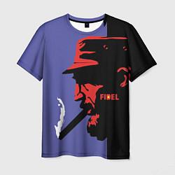 Футболка мужская Fidel цвета 3D-принт — фото 1