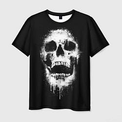 Футболка мужская Evil Skull цвета 3D — фото 1