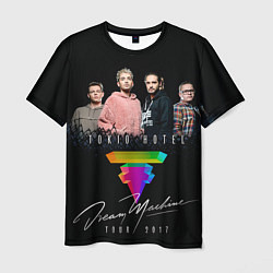 Футболка мужская Tokio Hotel: Dream Band цвета 3D — фото 1